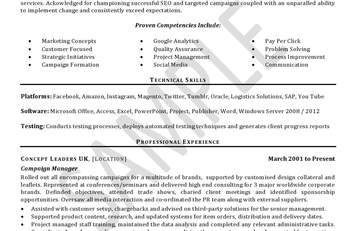 cv sample professional cv writing service